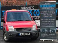 2013 13 FORD TRANSIT CONNECT 1.8 T200 LR 5D 74 BHP SWB PANEL VAN DIESEL