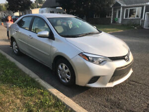 TOYOTA COROLLA 2014 SEULEMENT 12000$ FINANCEMENT DISPONIBLE