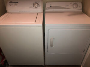 Kenmore washer & Hotpoint dryer