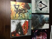 Ps3 God of War 3 + 4 steelbook cases