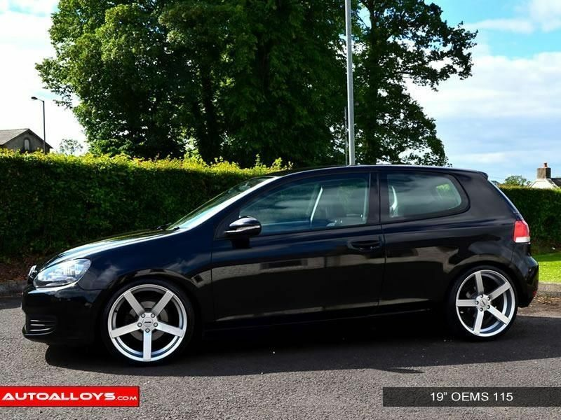 18 Quot Oems 115 Alloy Wheels And Tyres For Golf Mk5 Mk6 Mk7