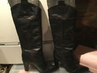 Genuine Leather Boots Size 6