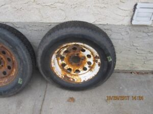 UTILITY TRAILER RIMS AND TIRES