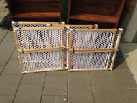 Safety first (1st) baby/ pet wood gates - 4 available