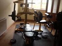 Powertec work bench (multi gym)