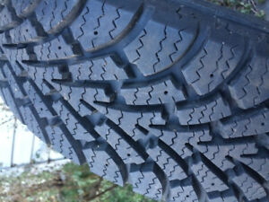 Goodyear Nordic winter tires (175 65 R14) + 4 summer tires
