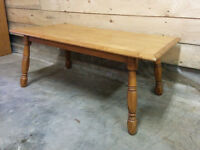 Cute Maple Coffee Table - Delivery Available