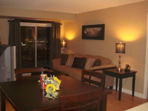 Fully Furnished Two Bedroom Suite in Square One, Mississauga