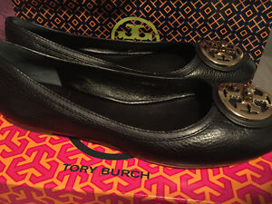 Tory Burch Flats, Brown Riding Boots & Wedge Booties London Ontario image 1