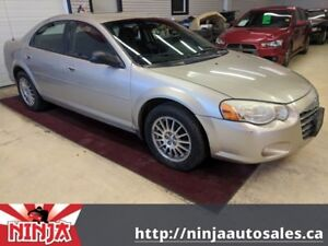 2006 Chrysler Sebring Sdn Touring Top Trim Low Km And Safetied