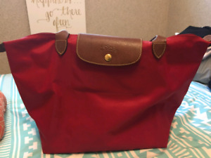 Large red Longchamps purse (purchased at Nordstrom)