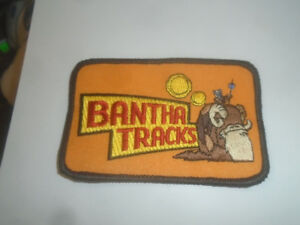 UNUSED STAR WARS FAN CLUB EXCLUSIVE BANTHA TRACKS PATCH VINTAGE