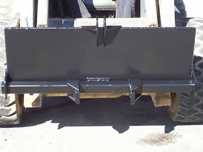 New Skid Steer 3 Point Attachmenttrailer Hitchbackhoebobcatkubotakmkwelding