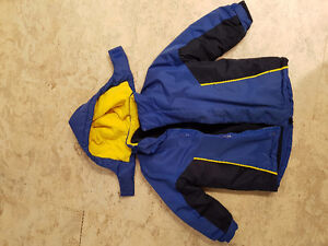 Child Size 4 --- 2 in 1 Winter Jacket