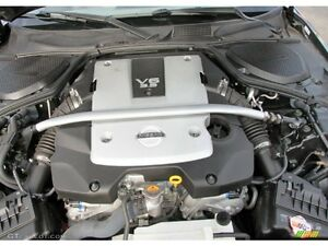 2008 350z  engine and manual tranny with 8000km  only