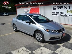 2014 Honda Civic LX   - $106.91 B/W