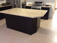 Beautiful 1 year old Laminate Countertops and double sink