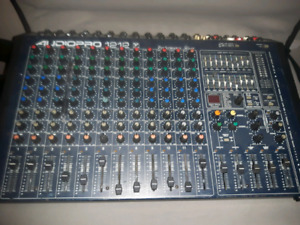 Powerd mixing board