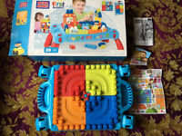 Mega Bloks my first Builders table with box