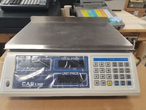 CAS S-2000 Electronic Price Computing Scale