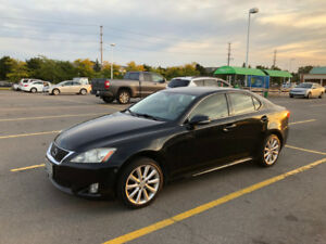 2009 Lexus IS250 AWD with extra Winter OEM Set