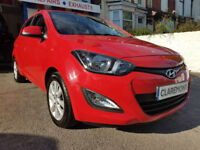 HYUNDAI i20 1.4 ACTIVE 6 SPEED,2012 '62' REG,ONE OWNER FULL S/HISTORY.