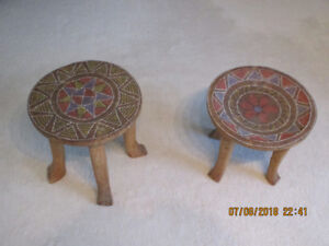 African Kisii Stools from Kenya