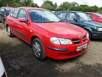 2000 NISSAN ALMERA SE NOW BREAKING FOR PARTS