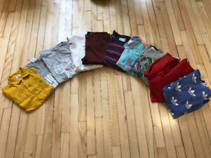 Men's Clothing Lot (Adidas, Element, Lacoste, Vans, Guess, etc.)