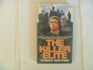 THE KILLER ELITE by Robert Rostand - 1976 Paperback