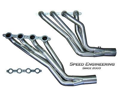 "Speed Engineering Silverado & Sierra Truck 1 7/8"" Headers 99-06 4.8L, 5.3L, 6.0L"