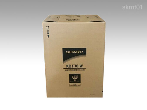 SHARP Humidified Air Cleaner Plasma Cluster KC-F70-W from Japan DHL Fast NEW