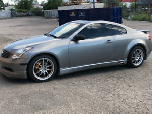 2004 Infiniti G35 Coupe 6MT *supercharged*