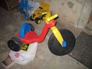Toys, Baby Monitor, Tricycle,