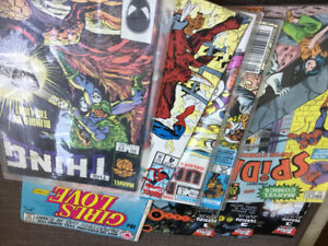 Comic books ASSORTED in excellent condition