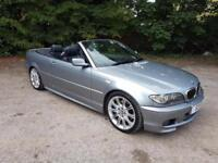 2005/55 BMW 330Cd M Sport Convertible Full Service History P/P incl P/X welcome