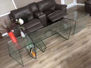 coffee table, fire place and dinning set