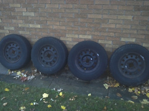 4 bolt Ford Wheels with tires