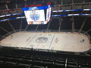 Oilers Tickets for November and December