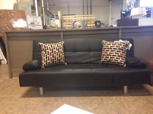 New Modern Click Clack Futon!!!  Forget the Hide-a-Bed!!
