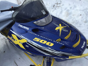 2002 Polaris Edge X 500