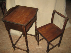 Telephone Tables & Chair