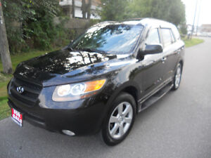 2007 Hyundai Santa Fe  SUV,  145 kms leather  6495 certified