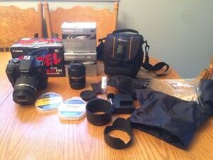 Canon rebel T6i with Tamron 18-270mm and 60mm macro lens