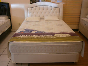 ORTHOPEDIC QUEEN SIZE SET 899$&SET DE LIT