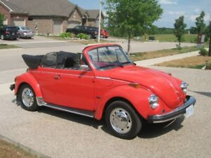 1976 VW Beetle Convertible in EXCELLENT CONDITION!!