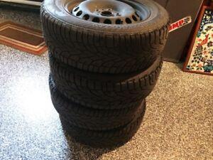 roues et pneu d hiver  VW