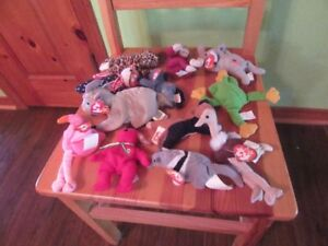 BEANIE BABIES - COLLECTIBLES - LOT OF 12