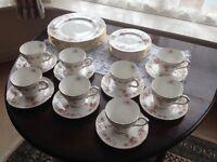 Tea set vintage style