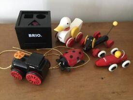 Brio pre school aged toys